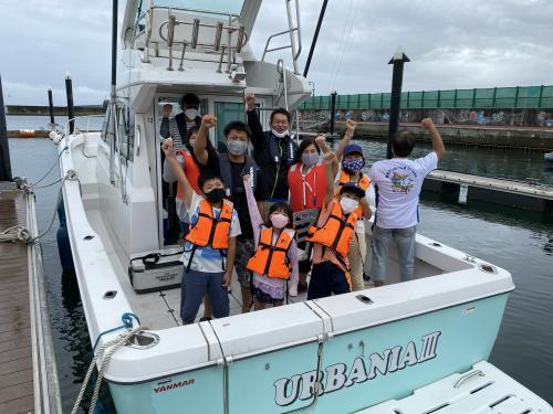 社員子供釣り大会