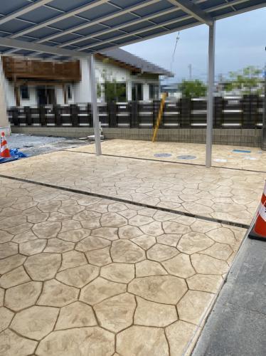 スタンプコンクリートの技術高い技術力!!