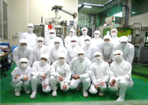 製造部の仲間たち